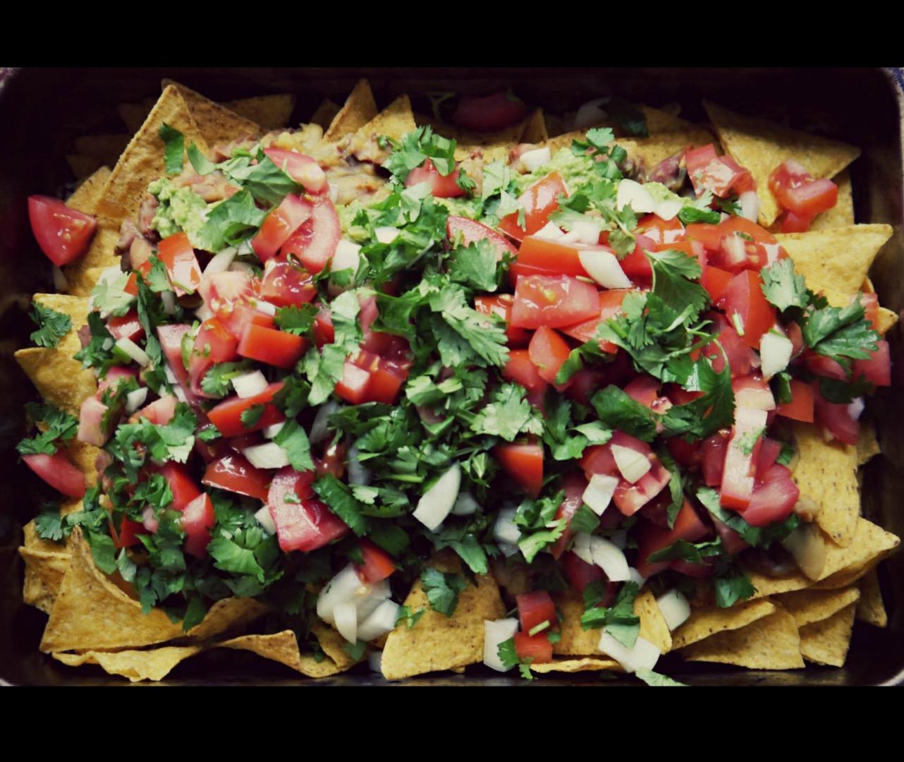 Vegan nacho's