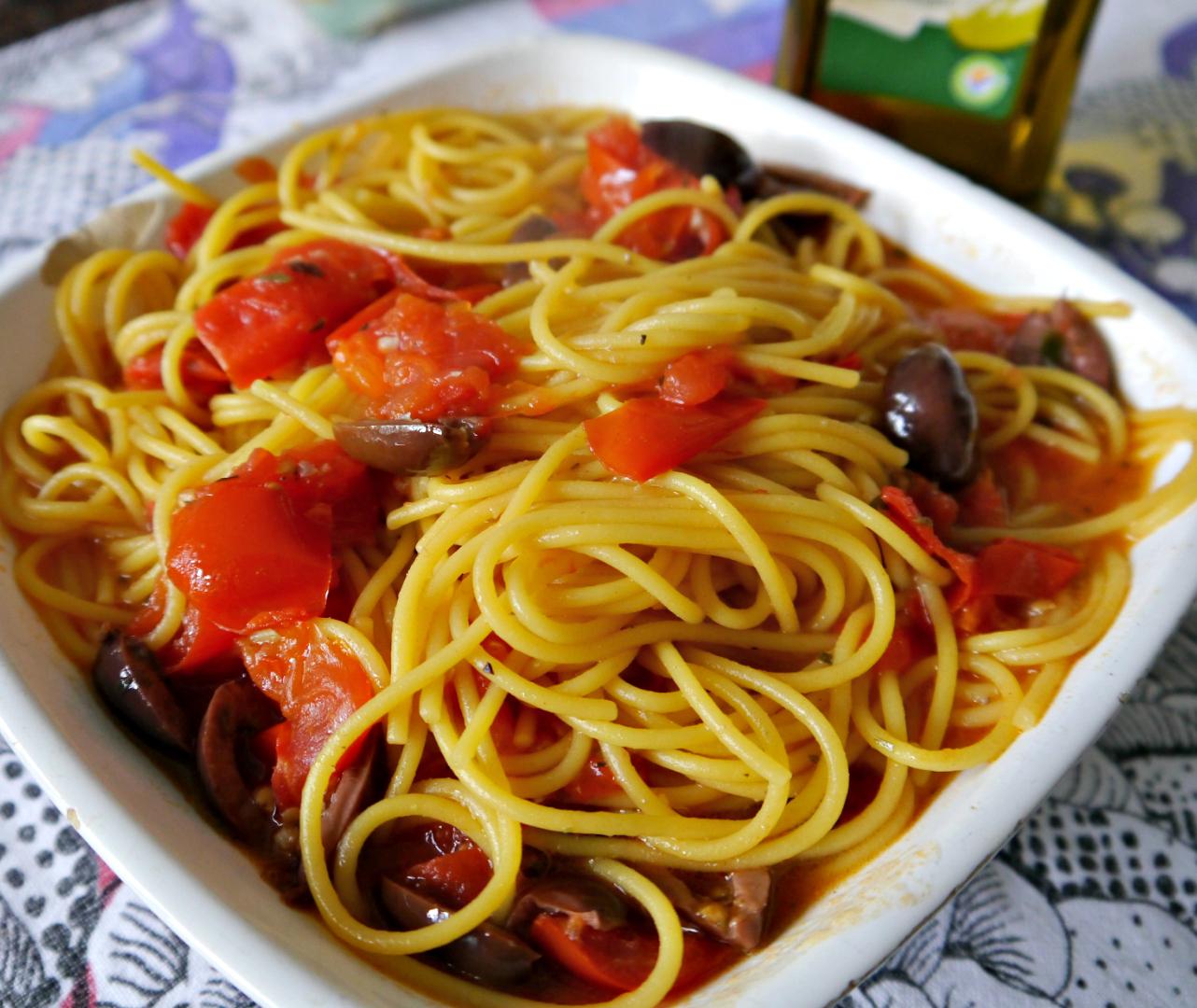 Spaghetti vegan