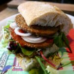 Broodje hamburger vegan